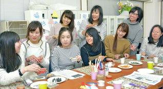 幸福と友情のスクラムの拡大へ! 香るキャンドル作りなど、工夫を凝らして開催された「ロマン総会」(愛知・鳴海宝城本部)