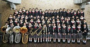 関西創価小学校の「アンジェリック・ブラスバンド」