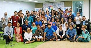 アラブ地域に続く2地域目の開催となったアジア太平洋地域の会合。19カ国の参加者らが決意にあふれて(バンコクで)