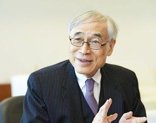 香港中文大学元学長 劉遵義教授(撮影は外山慶介)