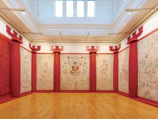復元された法隆寺金堂壁画 ©東京藝術大学