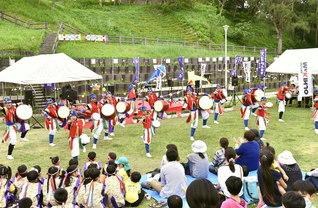 音楽隊が各地のイベントに出演。創価文化の旗手として、天下一の平和のマーチを広げる