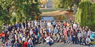 ドイツ学生部と青年部「インディゴグループ」の合同研修会