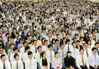 最後に勝つ人こそ、真の勝利者――異体同心の団結で祈り、語り、動き、新時代の民衆凱歌を轟かせよう!(4月23日、東京・足立総区の集い)
