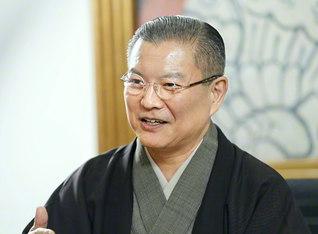 「伝統歌舞伎の魅力を伝えていきたい」と語る竹本葵太夫さん
